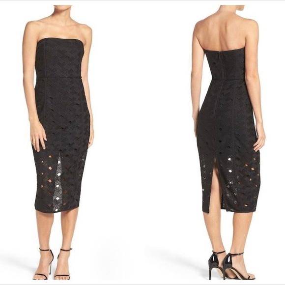 Misha Collection Margot Midi Dress NWT